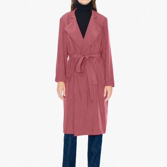 american apparel dylan trench